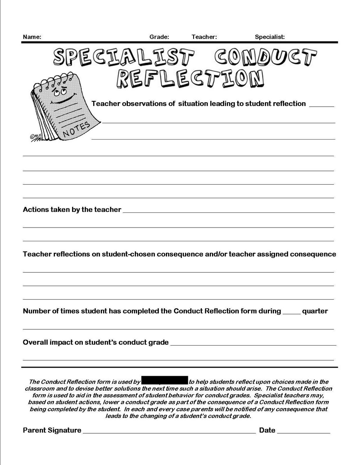 17 Best Images Of Reading Reflection Worksheet