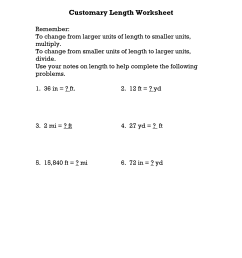 Convert Customary Units Worksheet   Printable Worksheets and Activities for  Teachers [ 1650 x 1275 Pixel ]