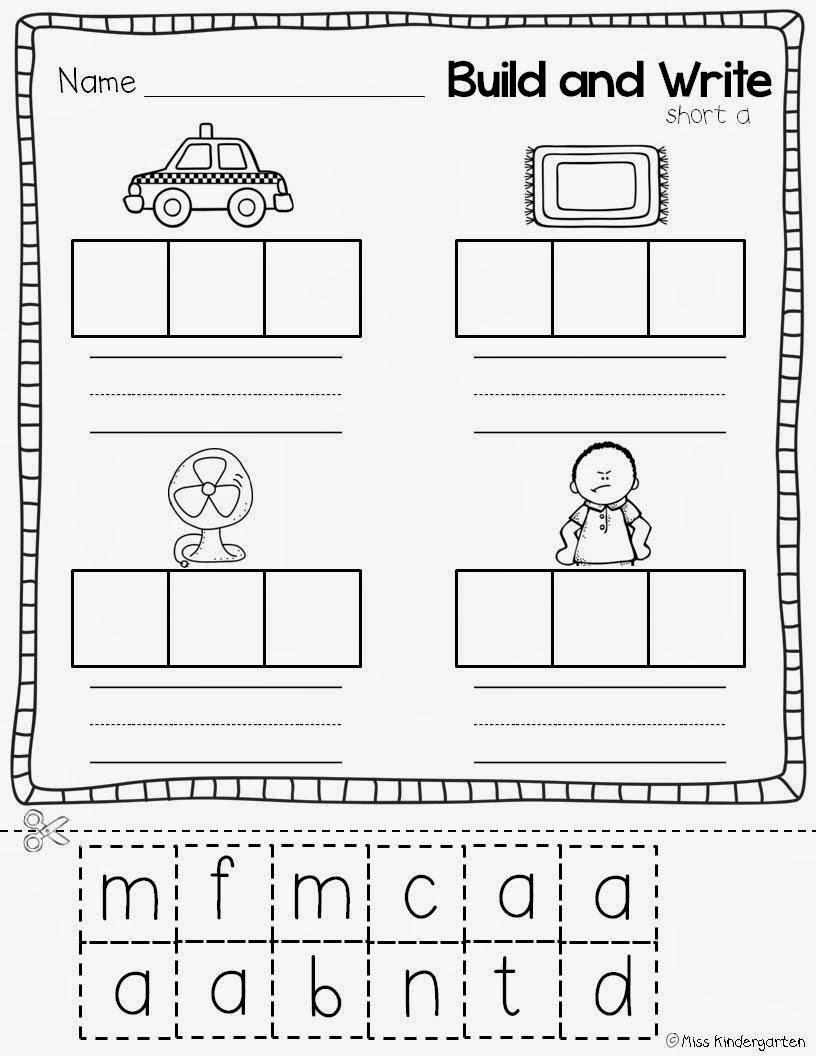 15 Best Images of CVC Words Medial Sounds Worksheets