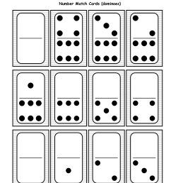 Domino Math Worksheets   Printable Worksheets and Activities for Teachers [ 1650 x 1275 Pixel ]