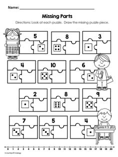13 Best Images of Part Part Whole Addition Worksheets
