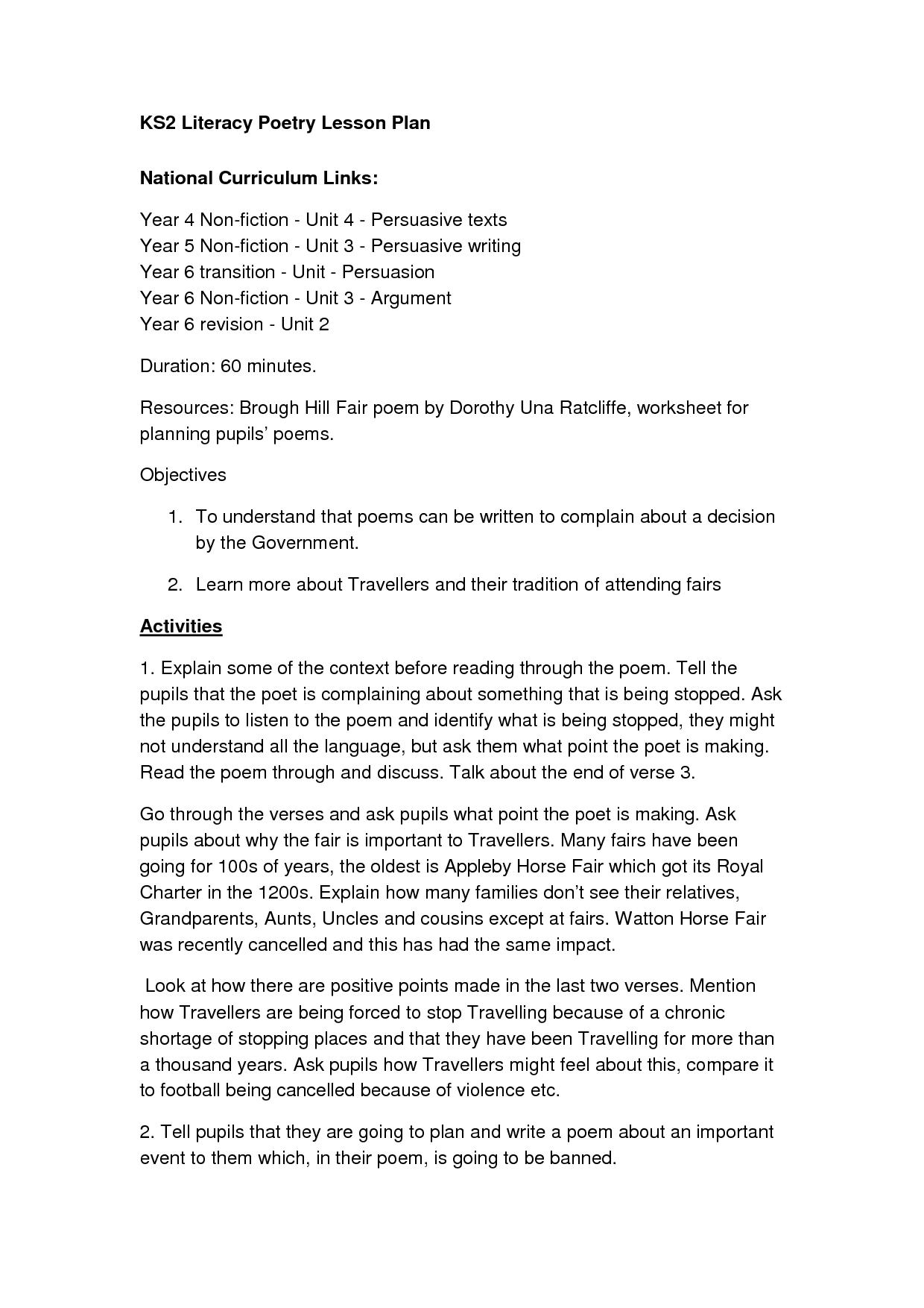 Persuasive Letter Example Ks2