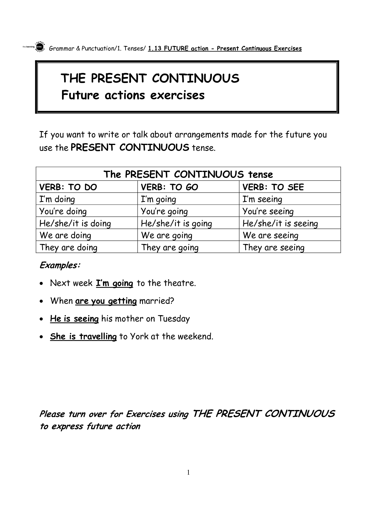 8 Best Images Of Con Tin Future Worksheets