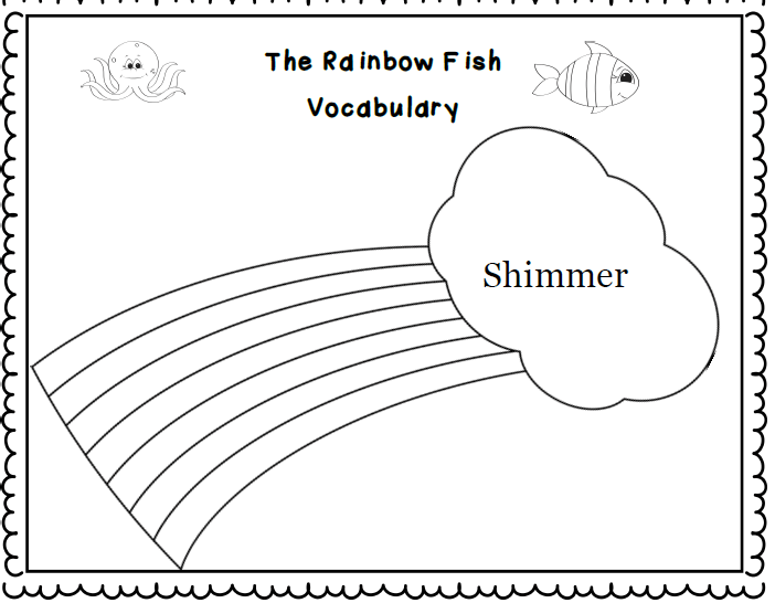 10 Best Images of Rainbow Fish Printable Worksheets