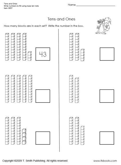 15 Best Images of First Grade Worksheets Counting By 10s