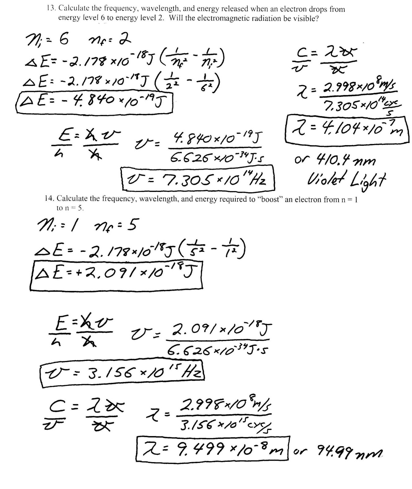 13 Best Images Of Bohr Model Worksheet Answers