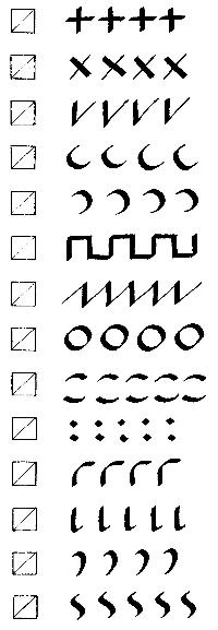 15 Best Images of Basic Handwriting Strokes Worksheets