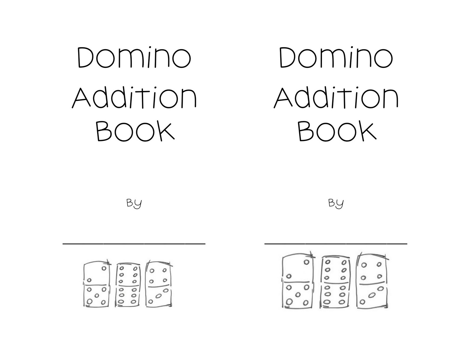 14 Best Images Of Domino Addition Worksheets For Kindergarten