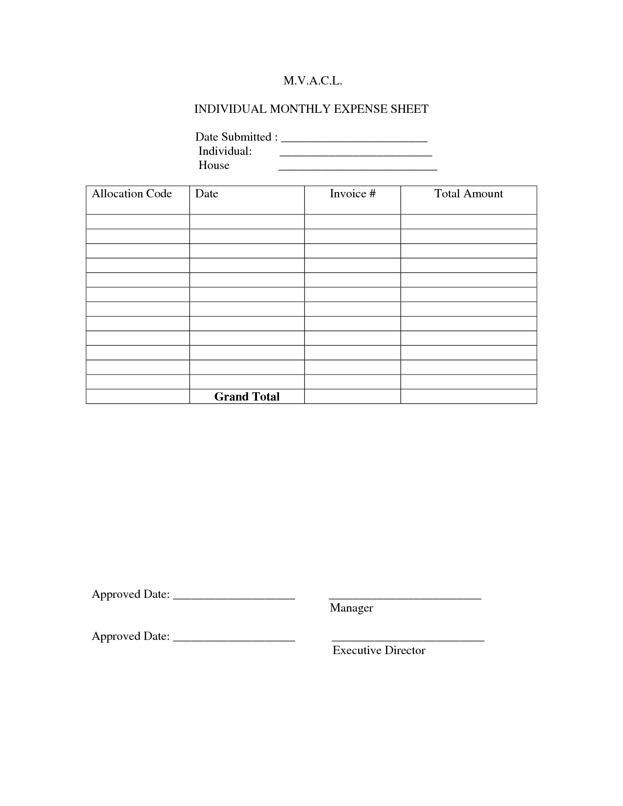16 Best Images Of Budget Worksheet Self Employed