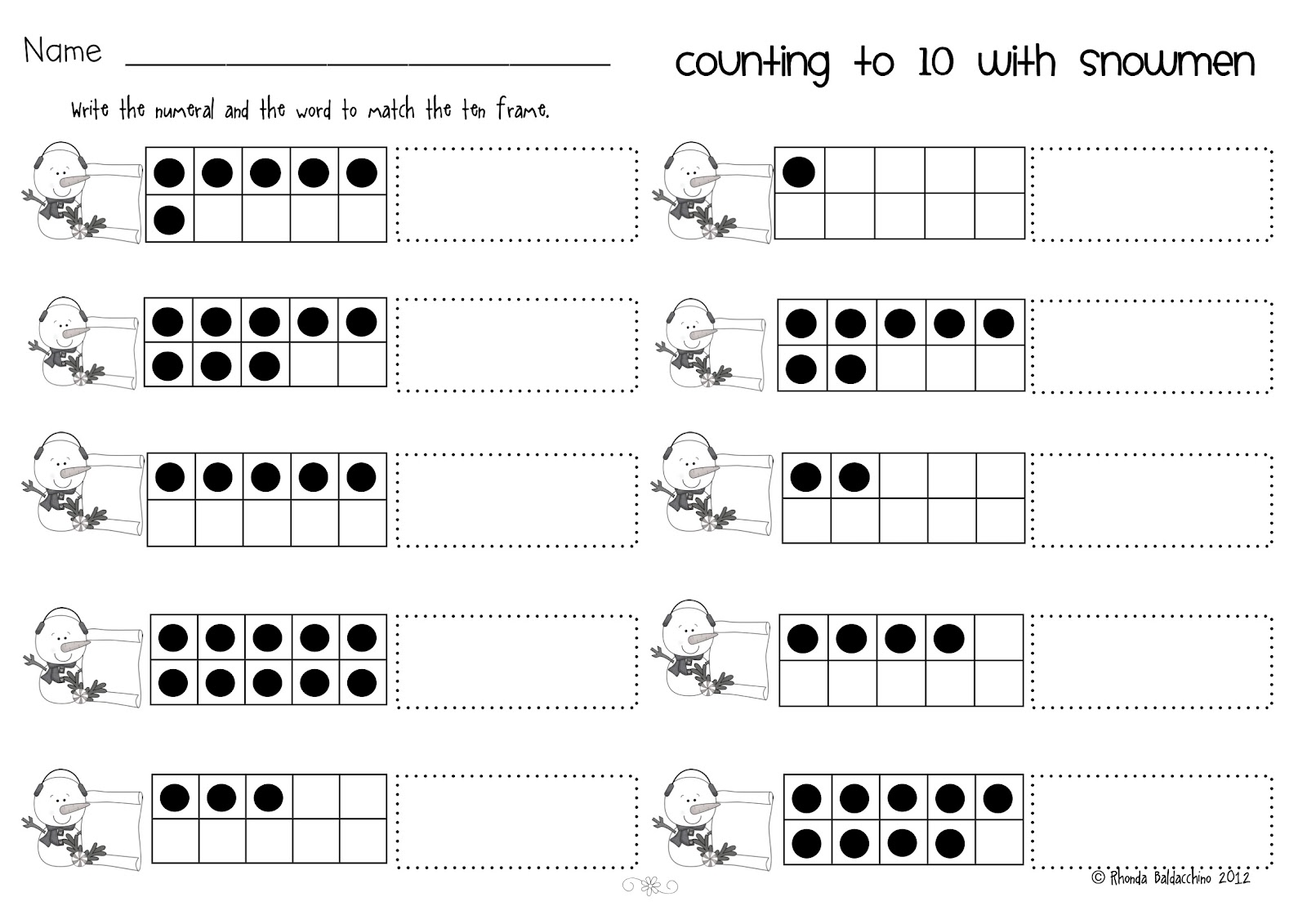 13 Best Images Of Fun Counting Worksheets
