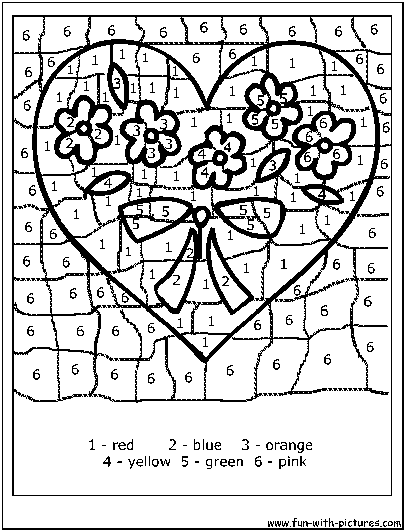 16 Best Images of Advanced Color By Number Worksheets