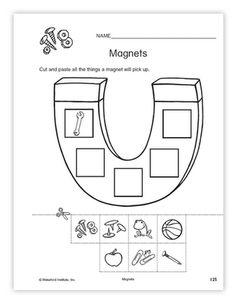 16 Best Images of Magnet Worksheets For Kindergarten