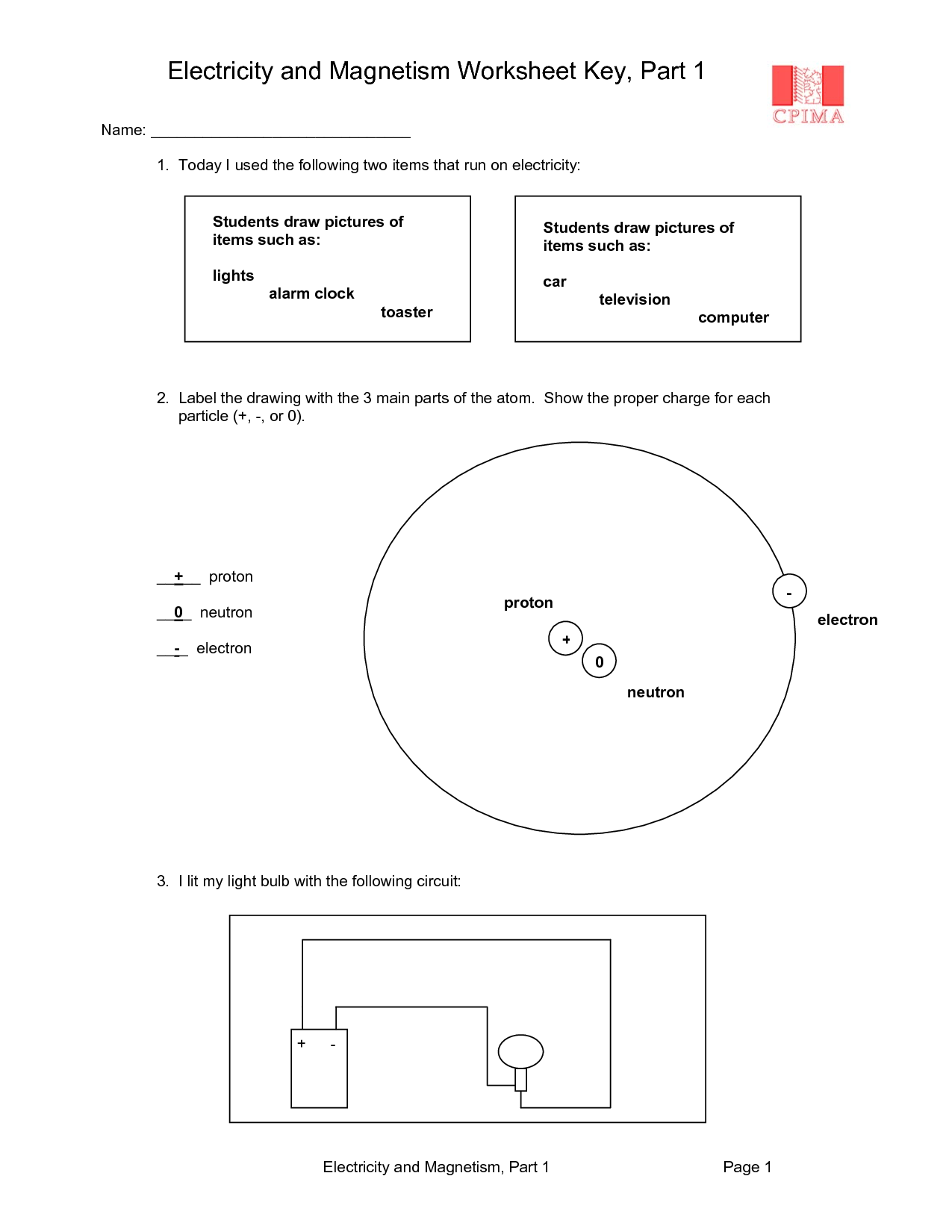 16 Best Images Of Magnet Worksheets For Kindergarten