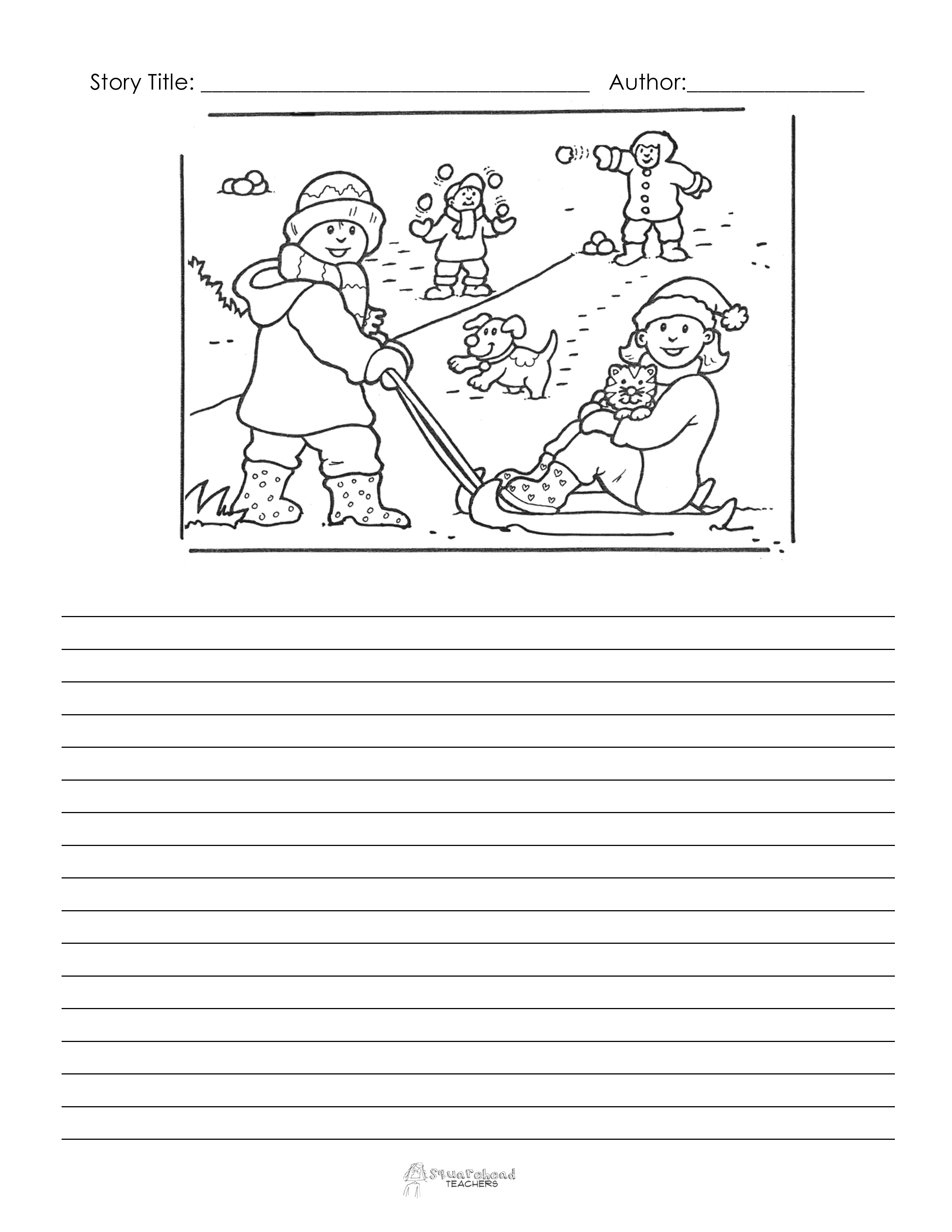 18 Best Images Of Christmas Writing Prompts Worksheets