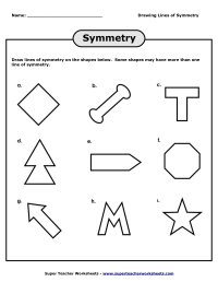 14 Best Images of Lines Of Symmetry Worksheets - Line ...