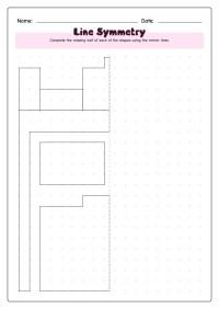 14 Best Images of Lines Of Symmetry Worksheets - Line ...
