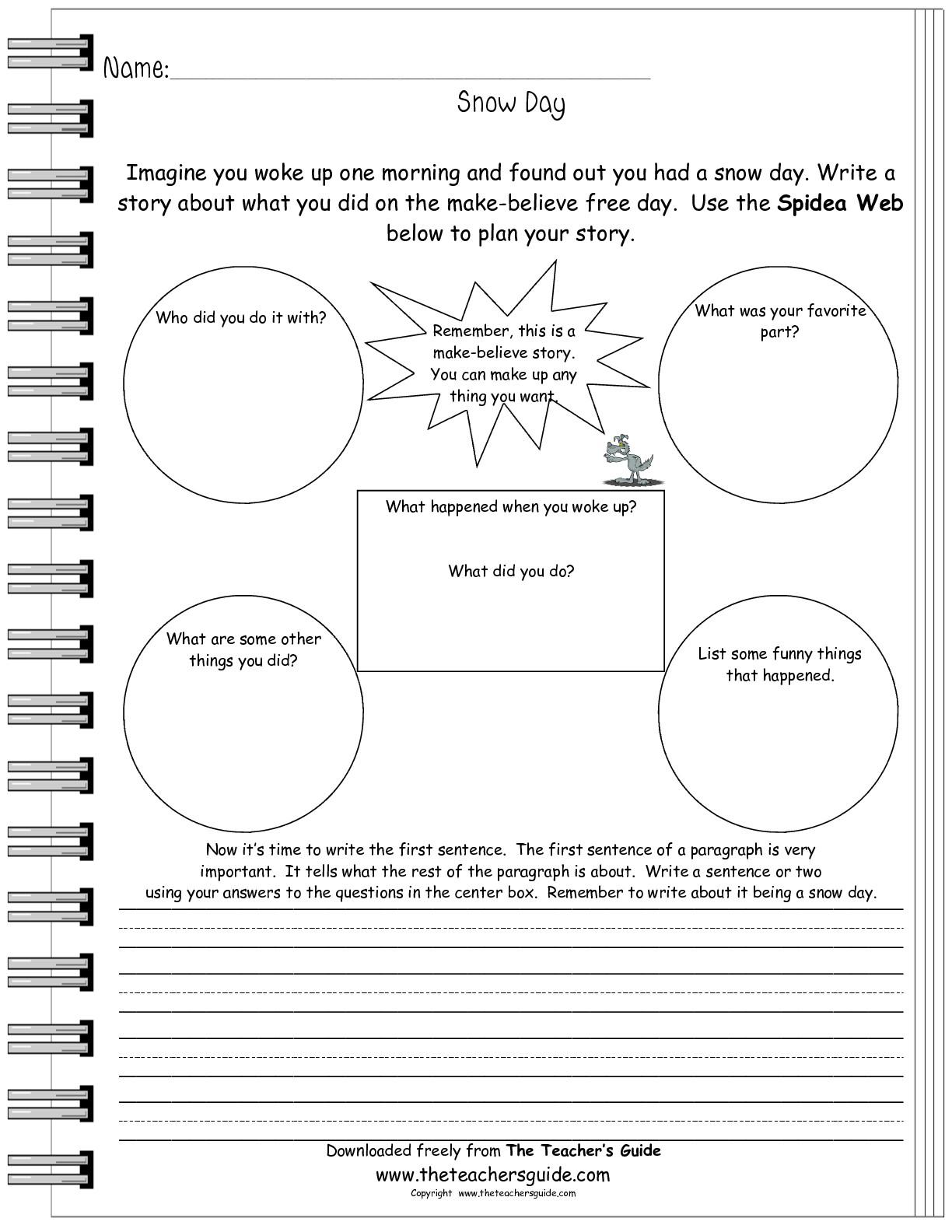 Labor Day Comprehension Worksheet