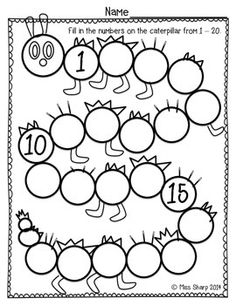 15 Best Images of Counting Worksheets 20- 30