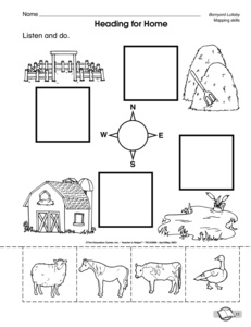 13 Best Images of Land And Water Worksheets For