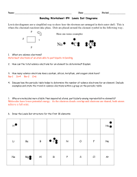 100+ [ Worksheet Electron Dot Diagrams And Lewis ...