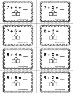 20 Best Images of Making Ten Math Strategy Worksheet
