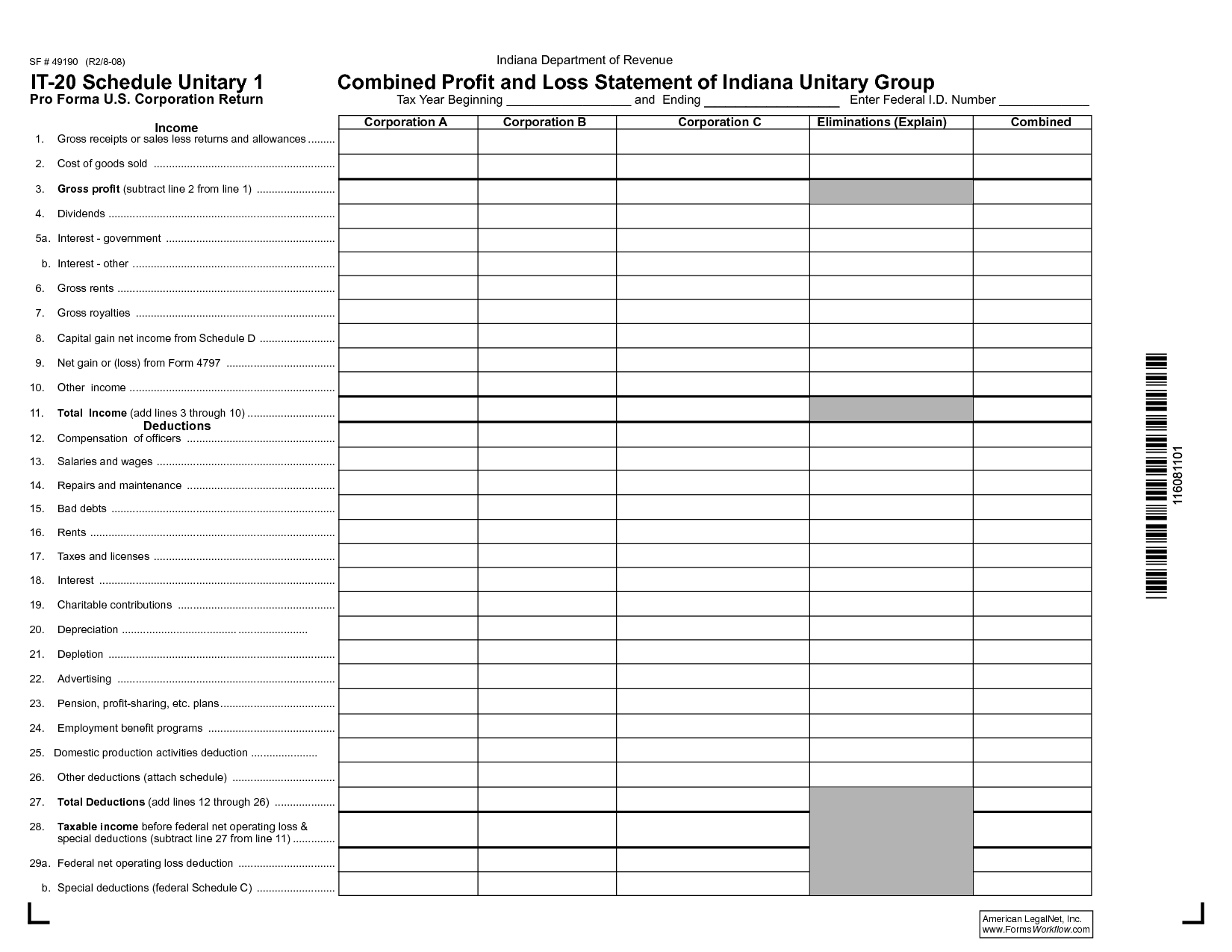 8 Best Images Of Profit And Loss Worksheet