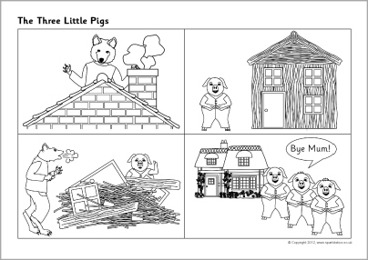 11 Best Images of Three Little Pigs Sequencing Worksheets