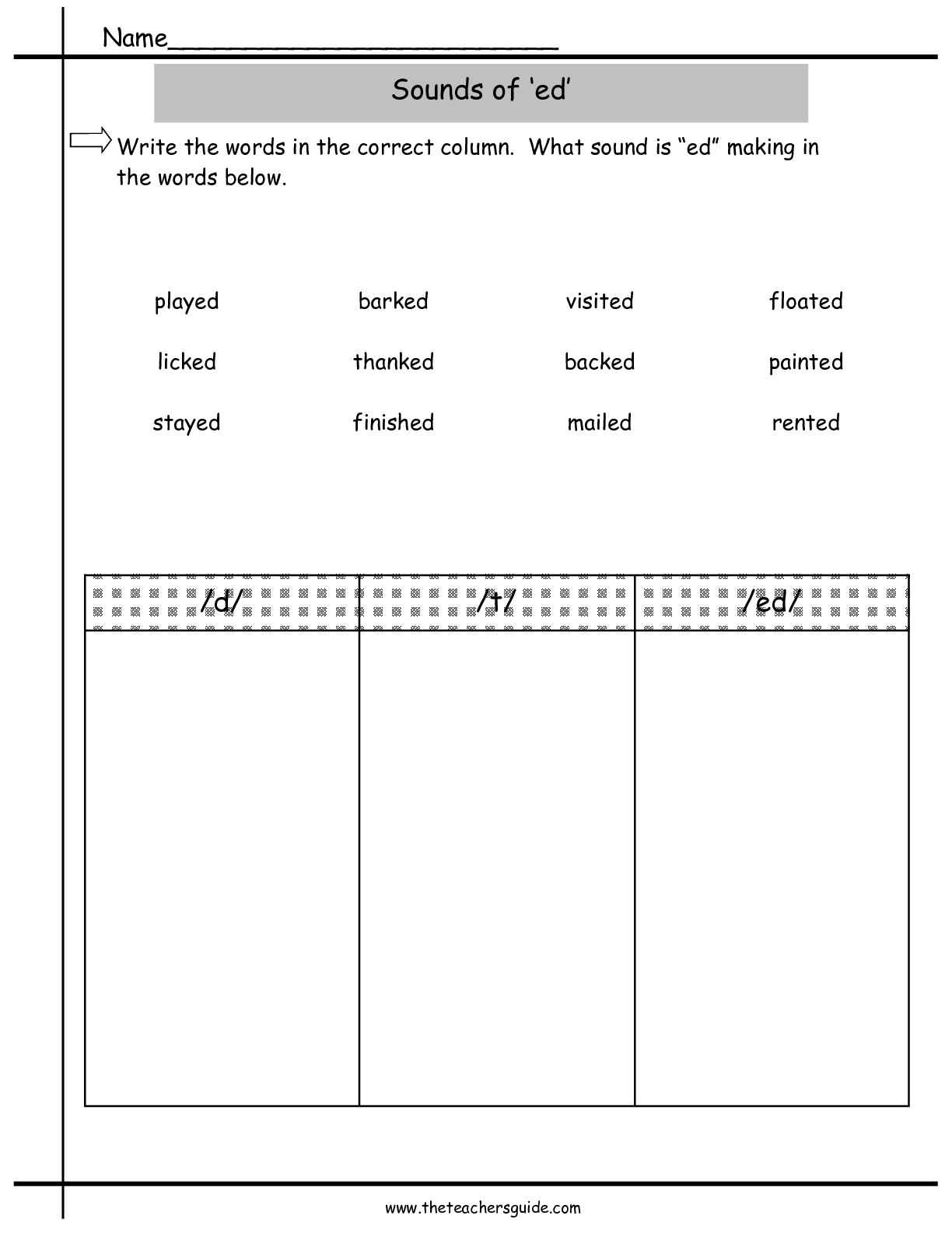 11 Best Images Of Ur And Ir Worksheets