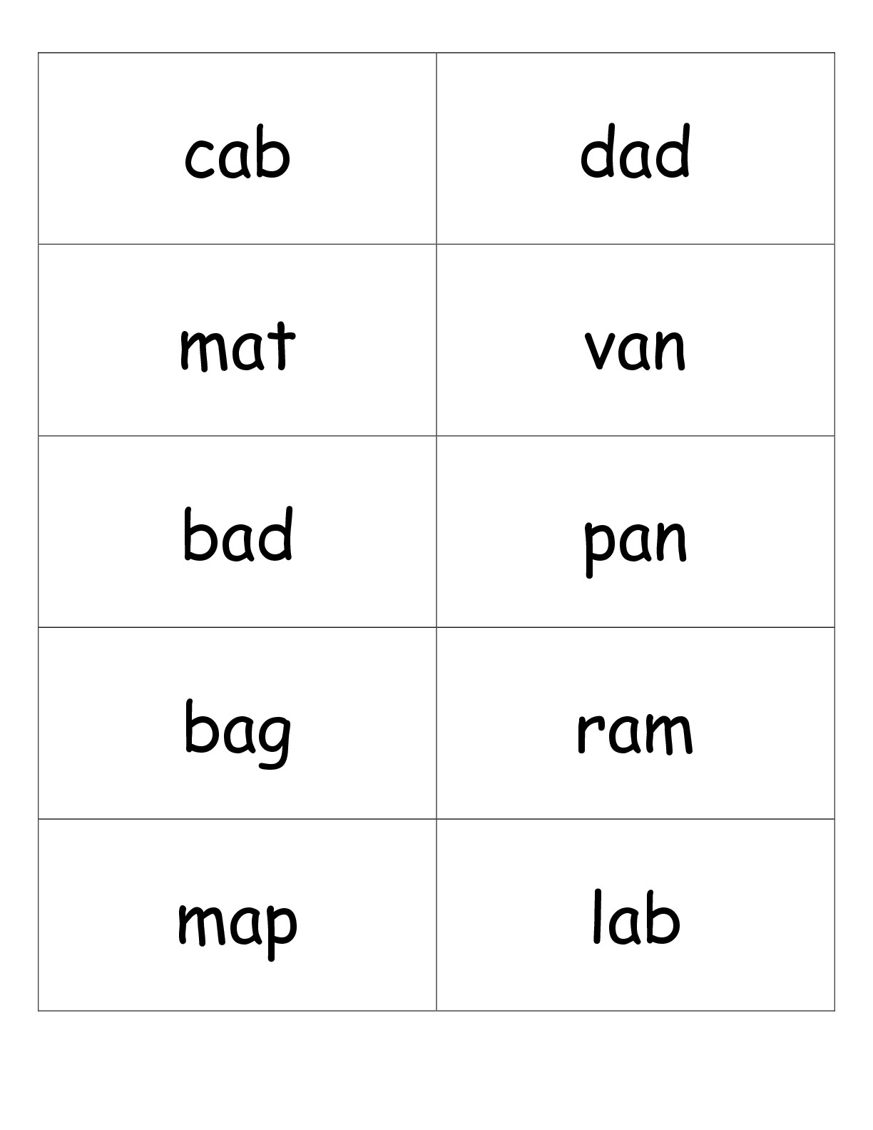 10 Best Images Of Short Vowel Phonics Worksheets