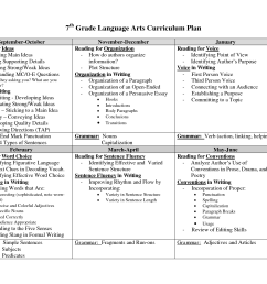 7 Grade Language Arts Worksheets   Printable Worksheets and Activities for  Teachers [ 1275 x 1650 Pixel ]