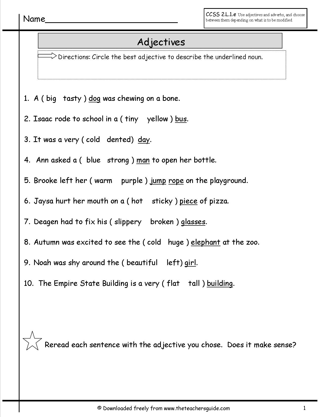 16 Best Images Of 3rd Grade Capitalization Worksheets