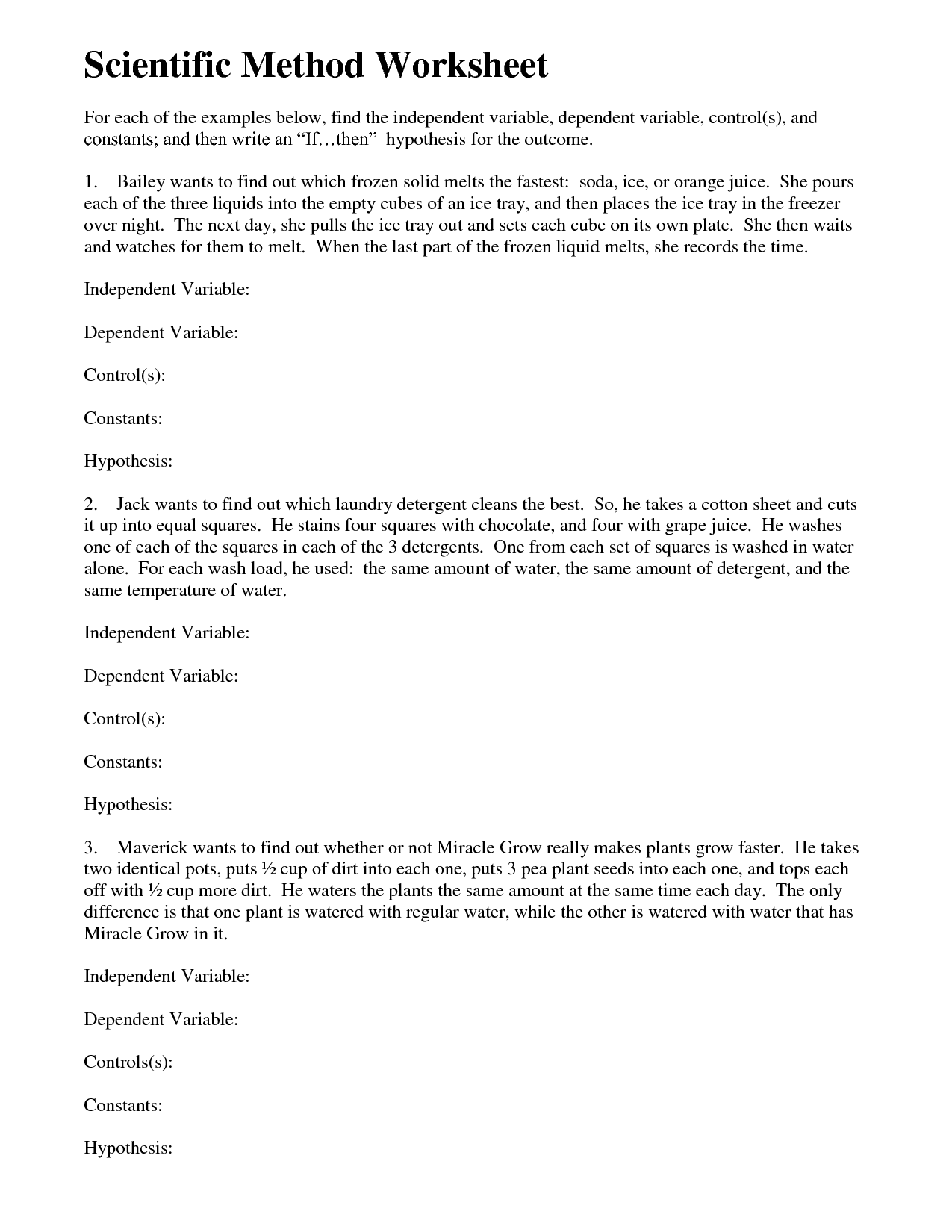 16 Best Images Of Simpson Science Variable Worksheet