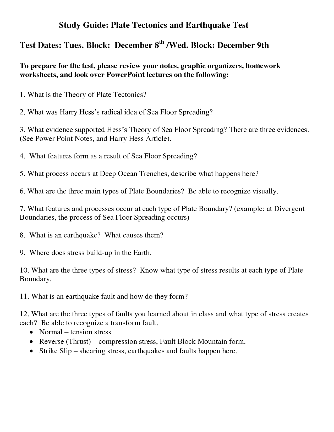15 Best Images Of Understanding Boundaries Worksheet
