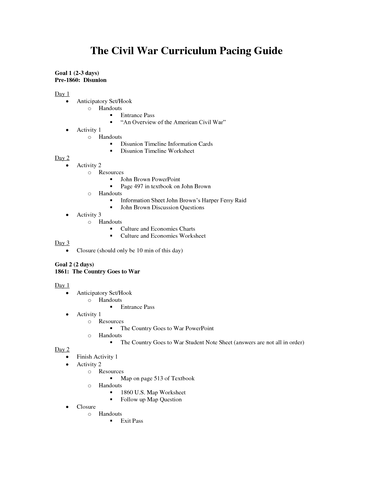 15 Best Images Of American Civil War Timeline Worksheet
