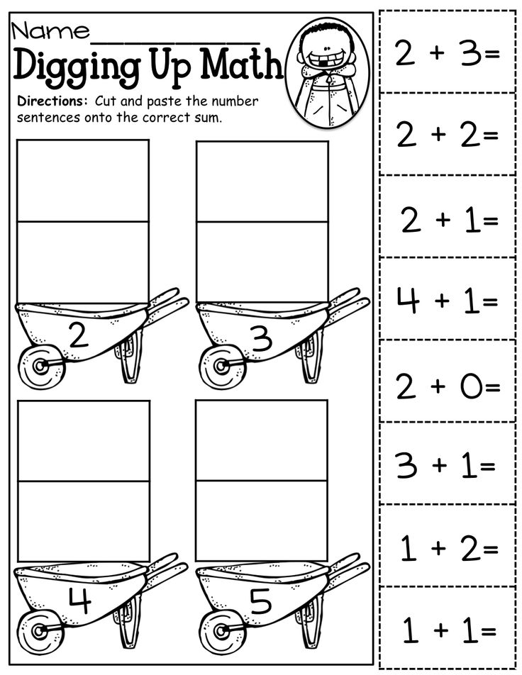 12 Best Images of Kindergarten Rhyming Worksheets Cut And