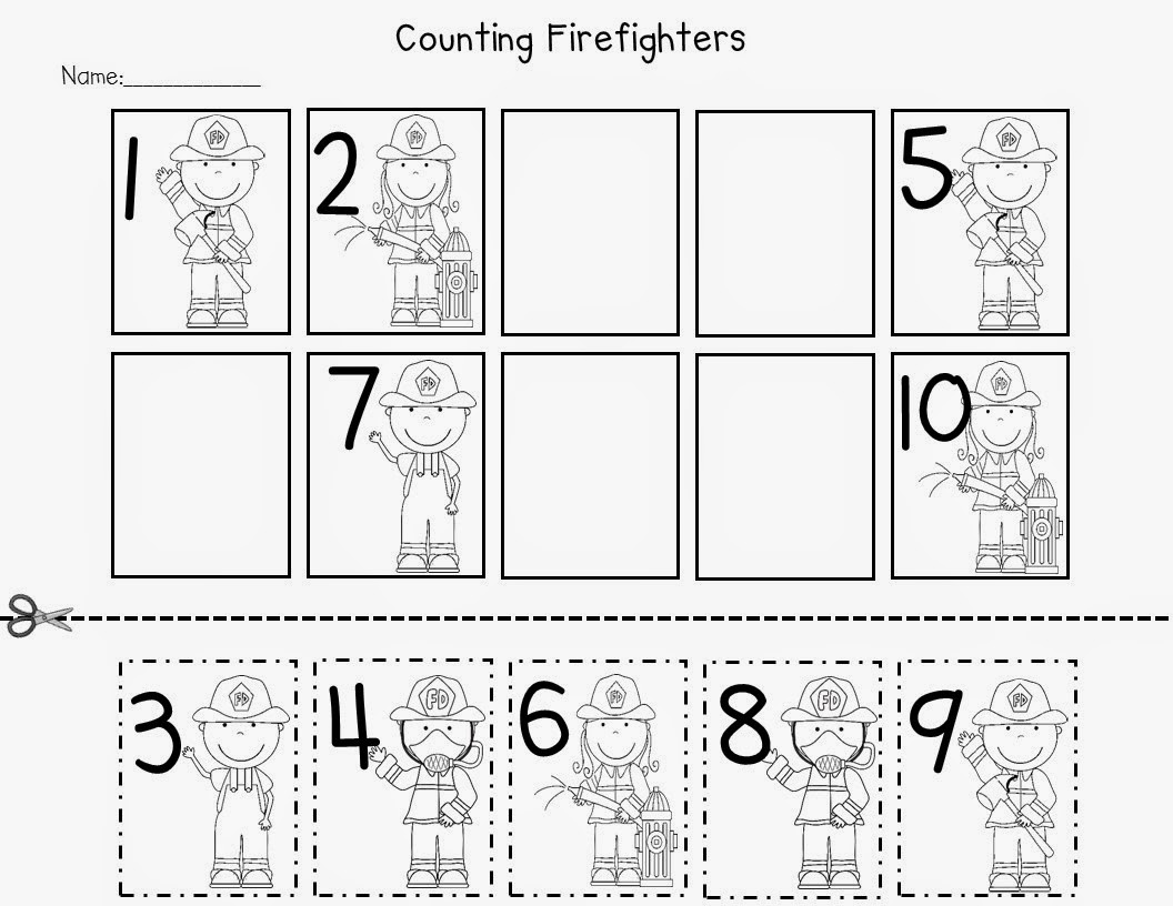 14 Best Images Of Preschool Number Sequence Worksheets