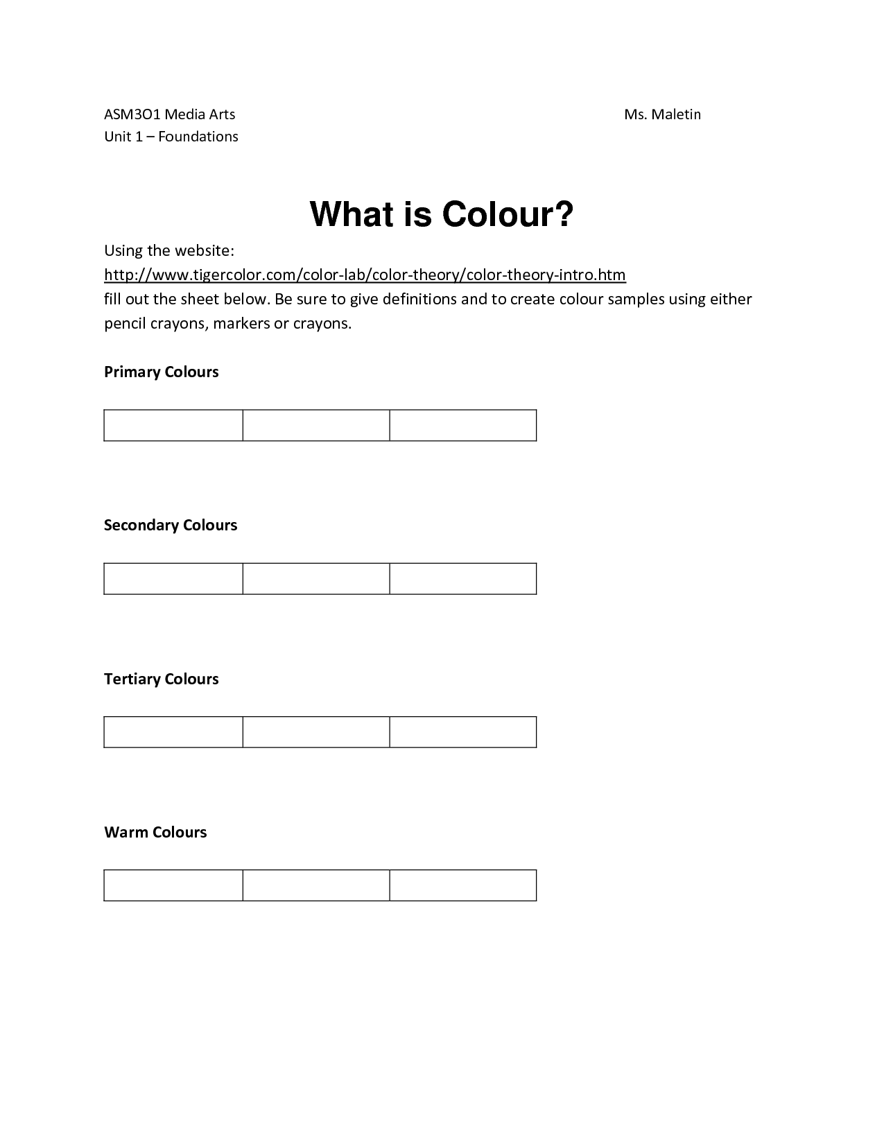 14 Best Images Of Career Rainbow Worksheet