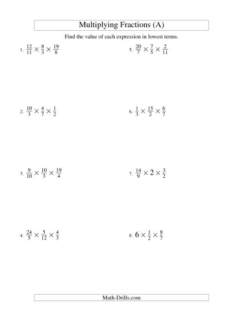 small resolution of Multiplying Fractions Puzzle Worksheet   Printable Worksheets and  Activities for Teachers