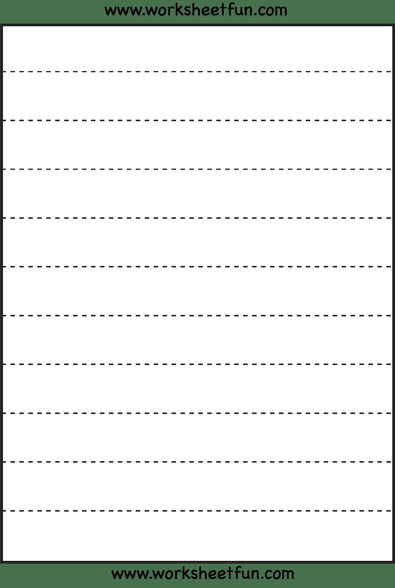 12 Best Images Of Straight Line Worksheet