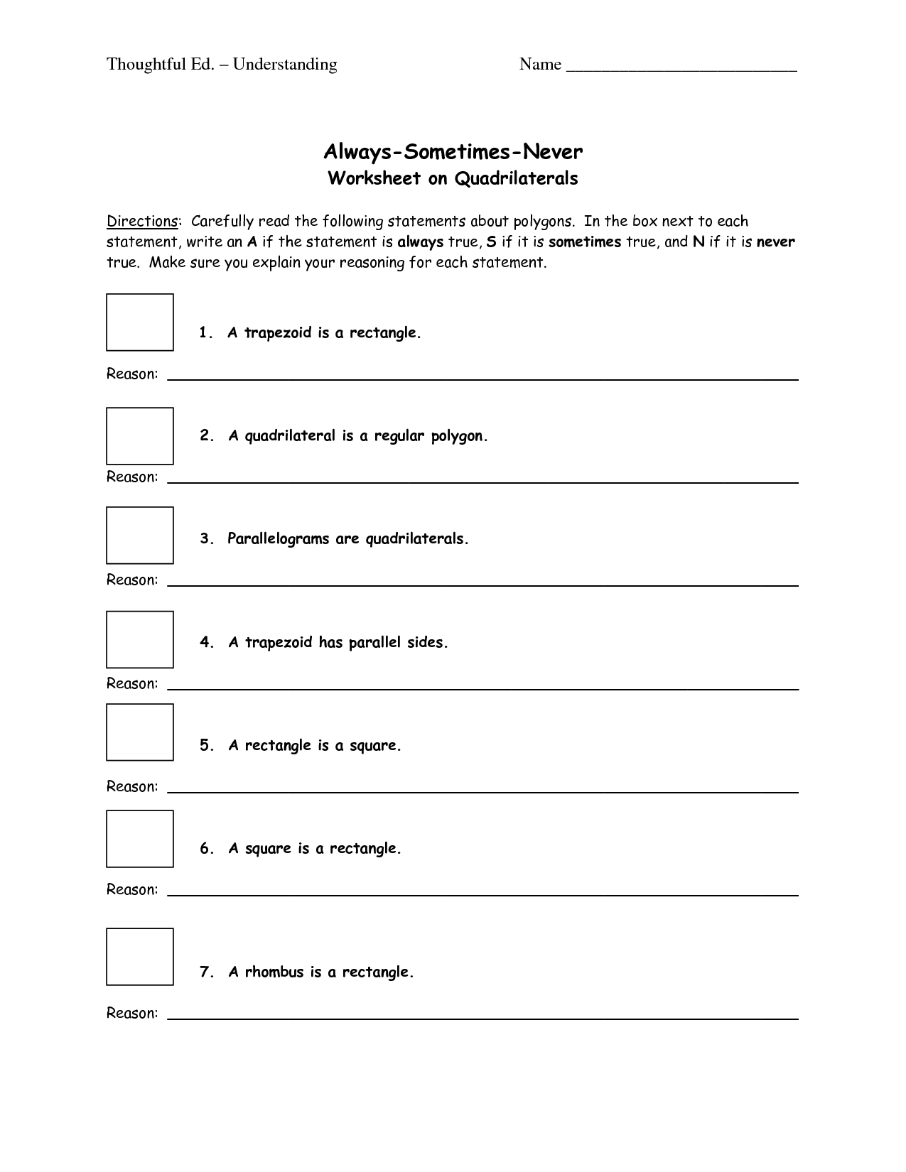 9 Best Images Of Polygon Or Not Worksheet