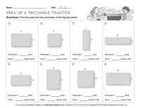 16 Best Images of 3rd Grade Math Worksheets Area - Area ...