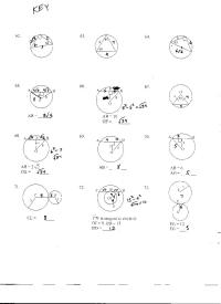 8 Best Images of Arc Geometry Circle Worksheets And ...