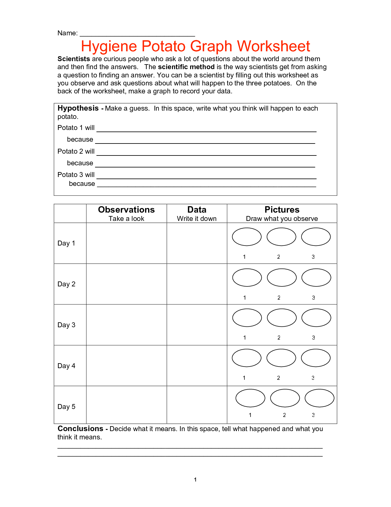 18 Best Images Of Hygiene Worksheets For Adults
