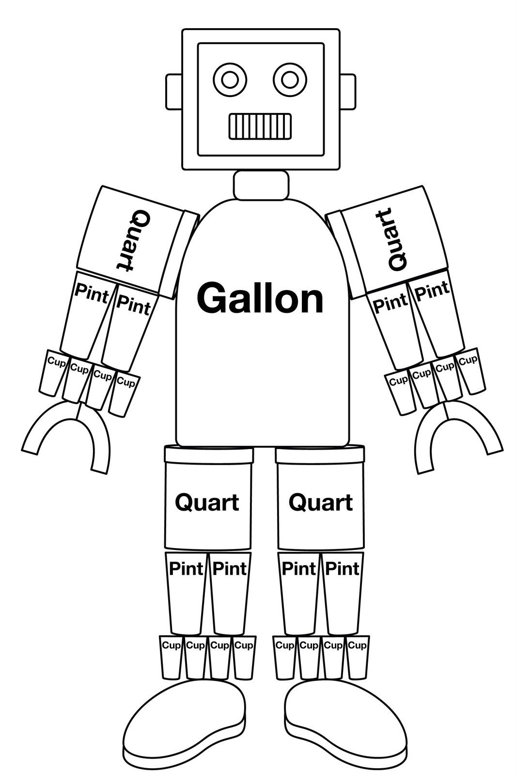 16 Best Images Of Robot Measuring Worksheet