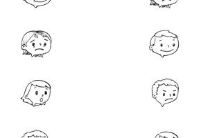 18 Best Images of Feelings Worksheets For Preschoolers