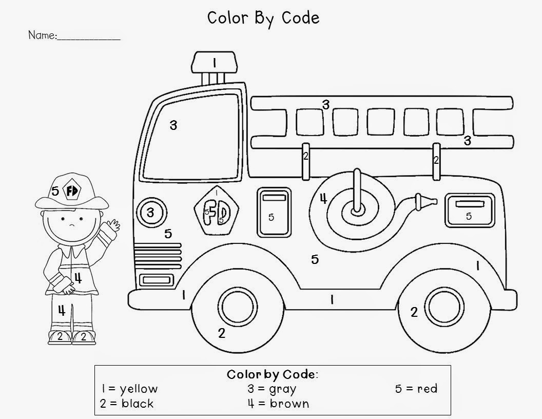 16 Best Images Of Kindergarten Fire Safety Worksheets