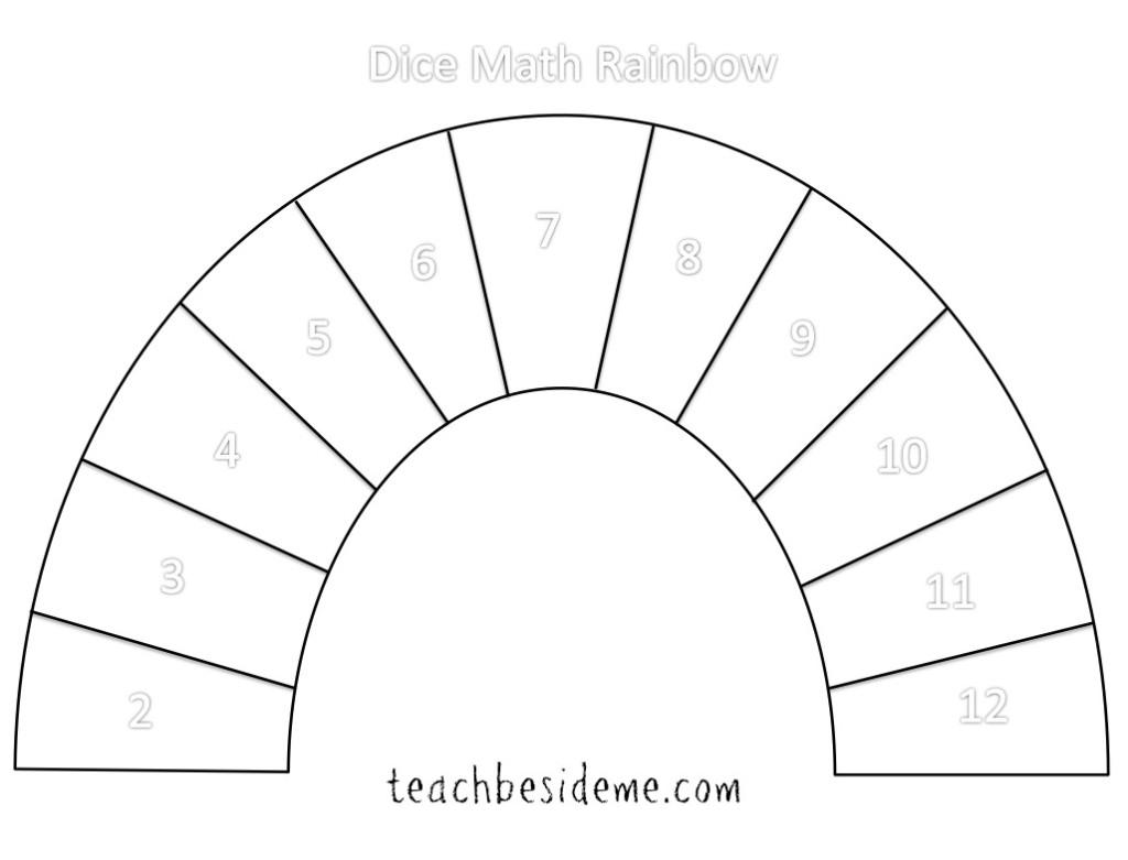 13 Best Images Of Rainbow Math Worksheet For Kindergarten