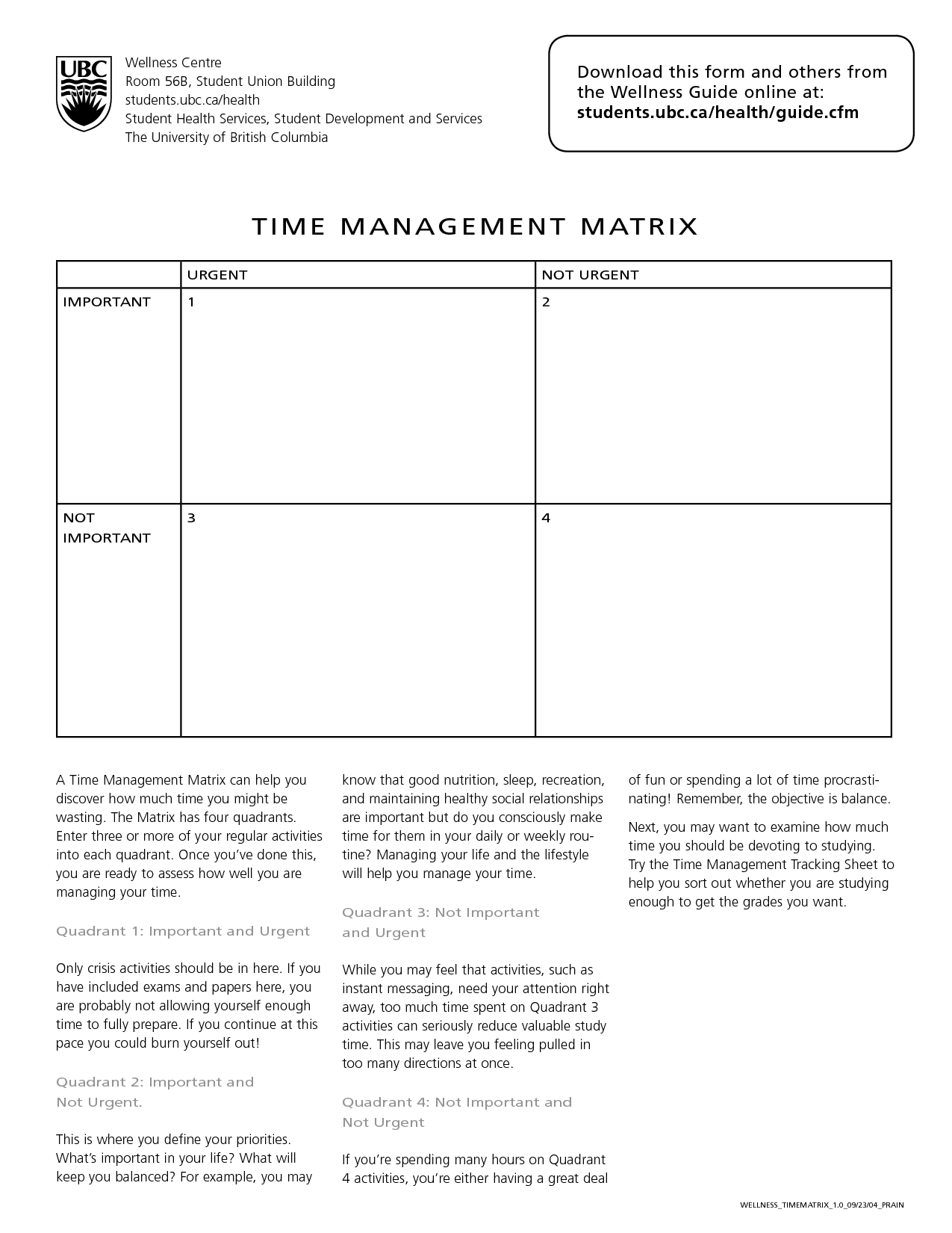 12 Best Images Of Time Management Activity Worksheets