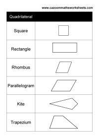 Quadrilaterals Worksheets - Free worksheets library ...