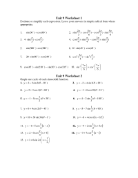 8 Best Images of Pre Calculus Worksheets - Arithmetic and ...